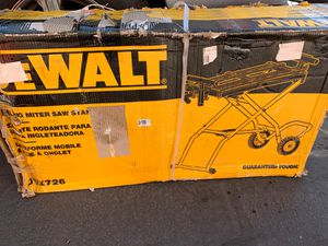 Dewalt rolling miter saw stand brand new for Sale in West Valley City, UT