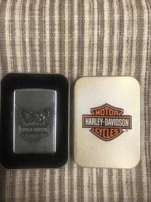 New Harley Davidson zippo lighter for Sale in Santa Fe Springs, CA