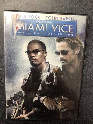 Miami Vice DVD - Jamie Foxx, Colin Farrell for Sale in Griswold, CT