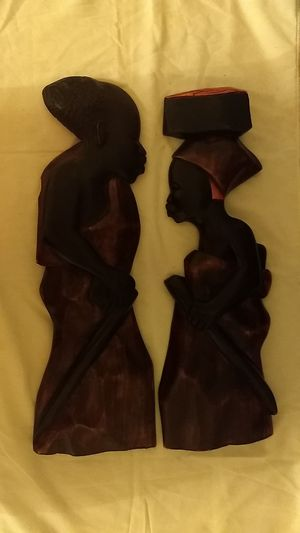 African Art Wooden Statues for Sale in Lithonia, GA