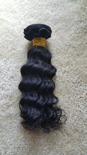 Brazilian human hair deep curly 10,12,14 (300g) for Sale in Lanham, MD