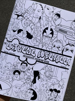 The Extreme In-Between Crossover Coloring Book for Sale in Long Beach, CA