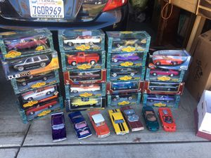Die cast cars 1/18 scale great for collection or toy muscle cars for Sale in Stockton, CA