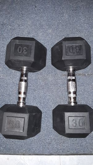 Two 30lb dumbbells for Sale in Peoria, AZ