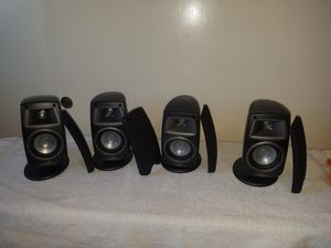 Klipsch Satellite Speakers in Excellent working condition for Sale in Alhambra, CA