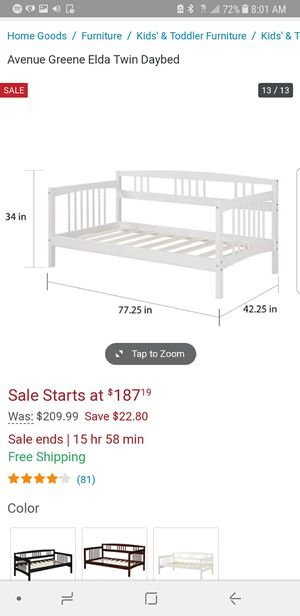 Twin Day Bed and mattress for Sale in San Francisco, CA