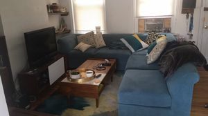 Blue sectional couch for Sale in Philadelphia, PA