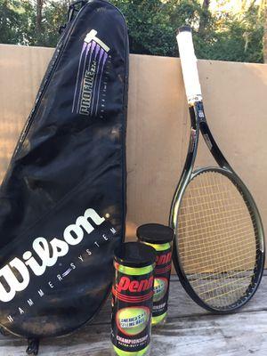 Wilson Hammer Tennis Racket for Sale in Spring, TX