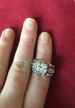 Cubic zirconia ring size 17 for Sale in New York, NY