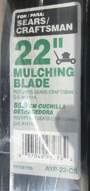 "22"" Lawn Mower Blade for Sale in Winter Park, FL"