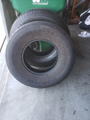 Trailer tires good tread for Sale in Corona, CA