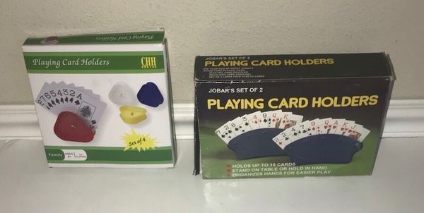 New Playing Card Game Holders All this $5