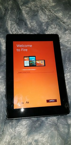 Amazon fire tablet for Sale in Puyallup, WA