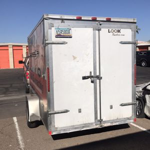 6' x 12' LOOK Cargo Trailer 2014 for Sale in Chandler, AZ