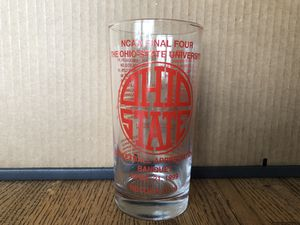 Collectable OSU Mens Basketball -Final 4 Appreciation Banquet Glass for Sale in London, OH