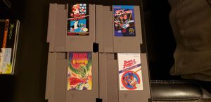 4 NES Games for Sale in Bremerton, WA