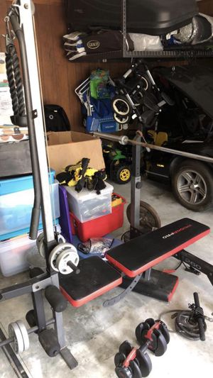 Home gym with equipment for Sale in Suffolk, VA