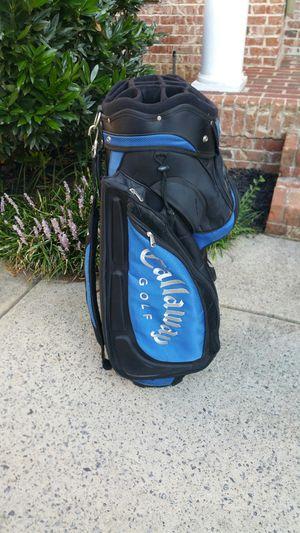 Super nice used Callaway golf bag blue and black for Sale in Marietta, GA