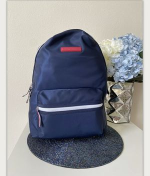 Tommy Hilfiger Nylon Backpack School Travel Bag Laptop Sleeve Navy Blue for Sale in Issaquah, WA