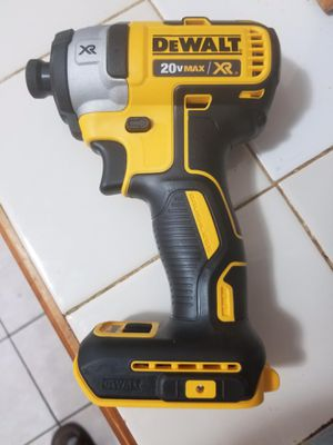 20v New Dewalt XR Brushless Impact Drill Only—Solo El Impacto!!! for Sale in Dallas, TX