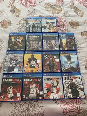 14 Game PS4 Lot — Kingdom Hearts, CoD, 2K, Madden, Overwatch, Destiny for Sale in San Diego, CA