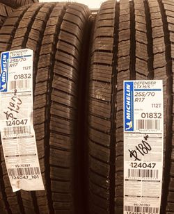 NEW MICHELIN TIRES. for Sale in Downey,  CA
