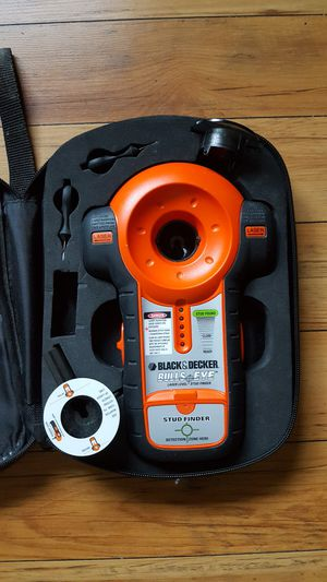 Black And Decker BDL100S Stud Finder With Case for Sale in Chelan, WA