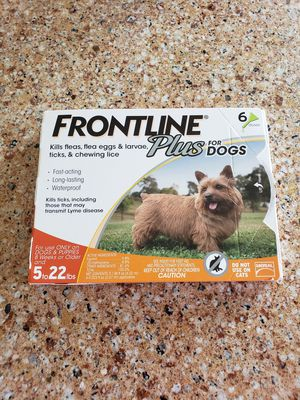 Flea and tick prevention for Small dogs for Sale in Wexford, PA
