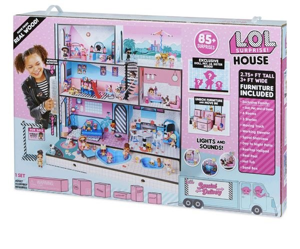 NEW LOL DOLL HOUSE WITH LIGHTS AND SOUNDS