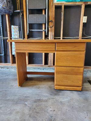 Oak Desk for Sale in Auburn, WA