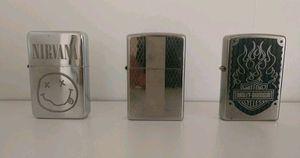 3 zippo lighters for Sale in El Cerrito, CA