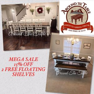 Custom Hand-Crafted Furniture for Sale in Greenville, SC
