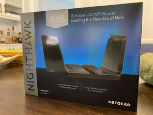 Netgear Nighthawk AX8 WiFi Router for Sale in Dearborn, MI