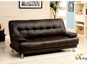 Only $50 Down! New Futon Sofa. Dark Brown. Free Delivery! for Sale in Los Angeles, CA