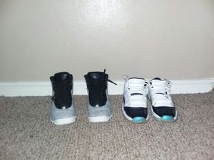 AIR Jordan Easter 11's & Cement 10's/US 6.5 for Sale in St. Louis, MO