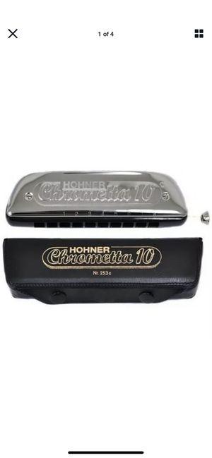 Hohner 253 C Chrometta 10 - Key of C Chromatic Harmonica - Key of C # 7714 for Sale in Irvine, CA
