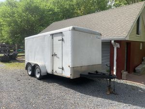 7x14 enclosed trailer for Sale in North Plainfield, NJ
