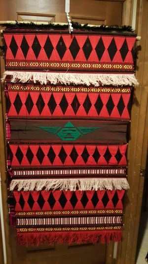 Handcrafted vintage cotton wall hangings / tapestry, Guatemala for Sale in Seattle, WA