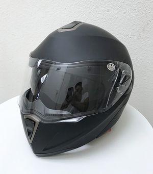 New in box $45 Full Face Motorcycle Bike Helmet Flip up Dual Visor (M, L, XL) DOT Approved for Sale in Whittier, CA