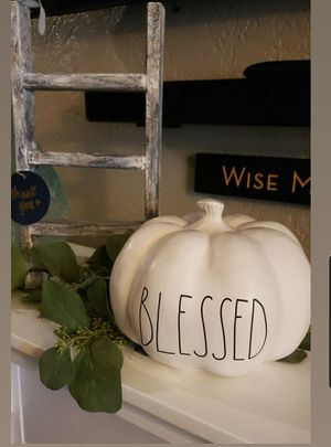 Rae dunn Blessed pumpkin for Sale in Orange Cove, CA