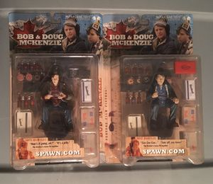 McFarlane Bob & Doug McKenzie Figures for Sale in Redford Charter Township, MI