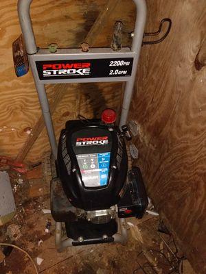 Power stroke power washer for Sale in Frame, WV