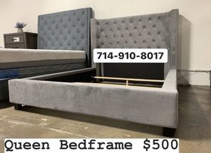 Velvet Queen bed frame for Sale in Santa Ana, CA
