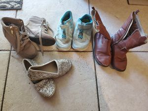 Size 12 girls shoes size 12 boots for Sale in Mesa, AZ