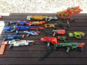 Nerf Lot 12 Guns for Sale in Leander, TX