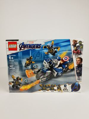 LEGO 76123 Marvel Avengers Captain America : Outriders Attack 167pcs New In Box for Sale in Stockton, CA