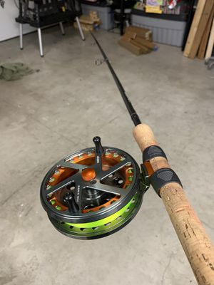 Shimano Center Pin combo - steelhead and trout - for Sale in Vancouver, WA