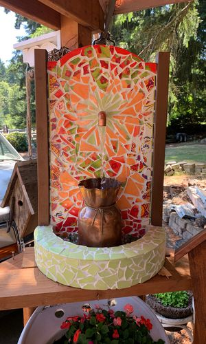 Handmade fountain 100.00 for Sale in Tacoma, WA