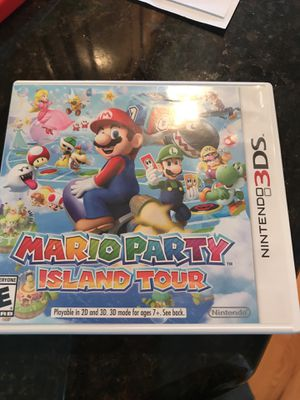 Mario Party Island Tour-Nintendo 3DS for Sale in Federal Way, WA