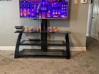 Glass Tv Stand for Sale in Davenport,  IA
